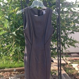 H&M Dress. Tailored to fit. Pencil cut dress.
